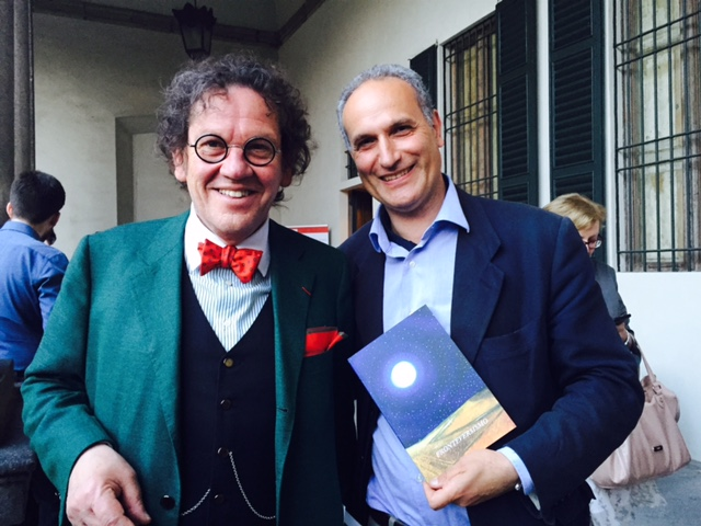 Philippe Daverio e Giuseppe Siniscalchi