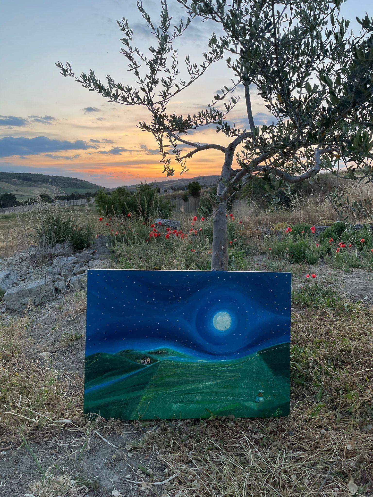 Pace in campagna foto in aperta campagna durante il suo percorso da Gravina in Puglia a Valsinni